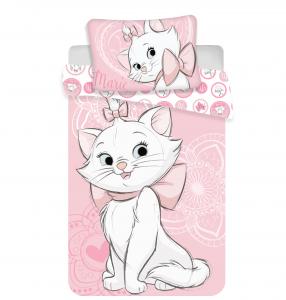 Povlečení Marie Cat pink heart