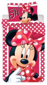 Bavlněné povlečení Minnie dots