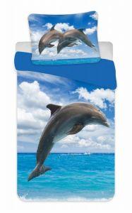 Povlečení fototisk Delfín 02