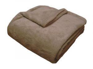 Super soft deka Dadka tmavě béžová