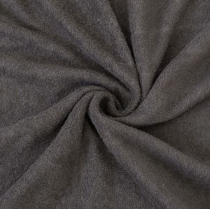 Froté prostěradlo tmavě šedé