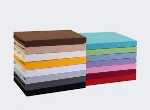 Kvalitní napínací jersey prostěradlo českého výrobce světle šedé barvy, Kvalitex