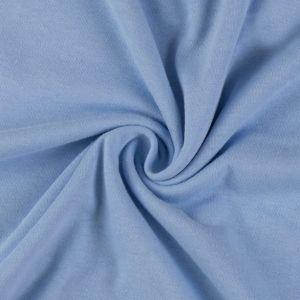 Jersey prostěradlo světle modré