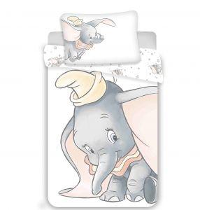 Disney povlečení do postýlky Dumbo grey