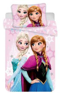 Bavlněné povlečení do postýlky Disney Frozen pink baby