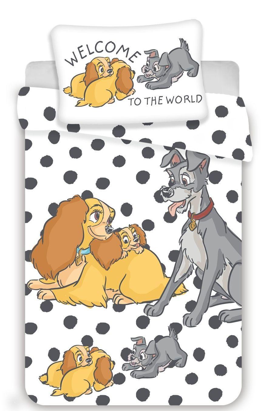 Disney povlečení do postýlky Lady a The Tramp baby Jerry Fabrics