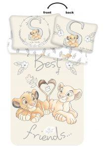 Disney povlečení do postýlky Lví Král Best Friends baby