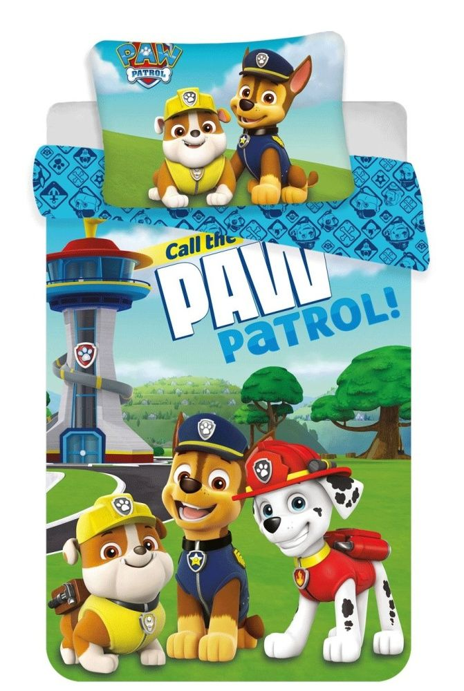Disney povlečení do postýlky Paw Patrol 121 baby Jerry Fabrics