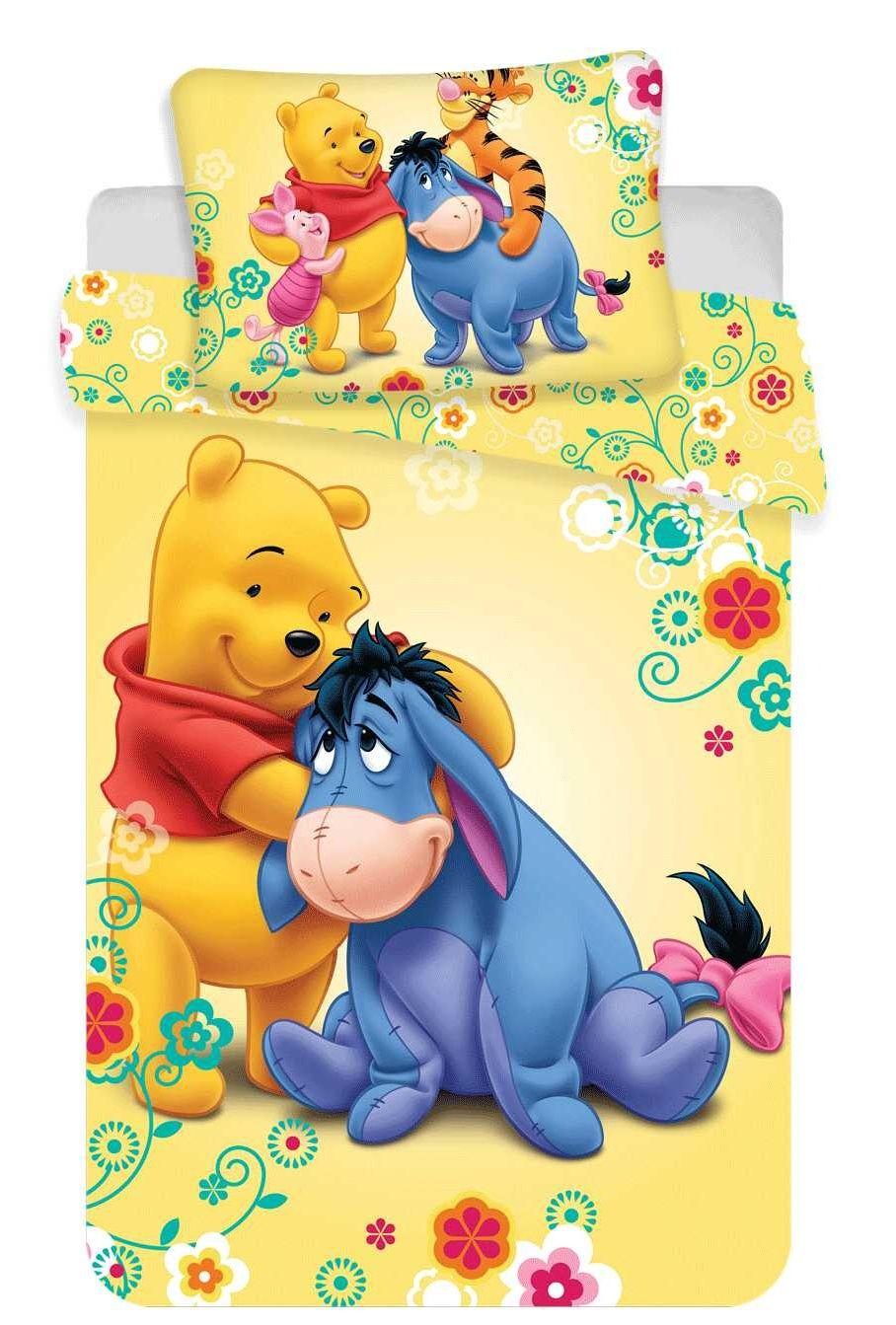 Pro nejmenší děti bavlněné povlečení do postýlky Disney WTP baby, Jerry Fabrics