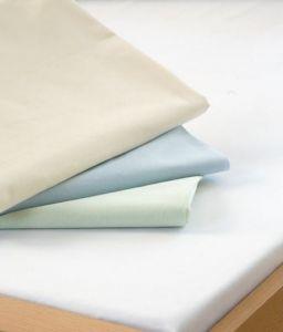 Prostěradlo - bavlněná plachta, bílá