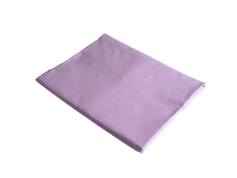 Kvalitní jednobarevné prostěradlo, bavlněná plachta v barvě fialové, Dadka