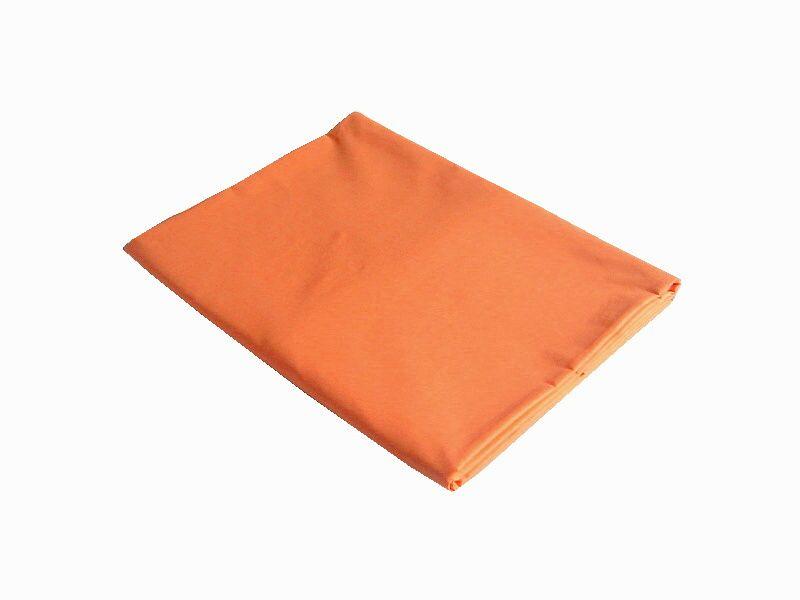 Od českého výrobce bavlněné prostěradlo v barvě pomeranč, Dadka