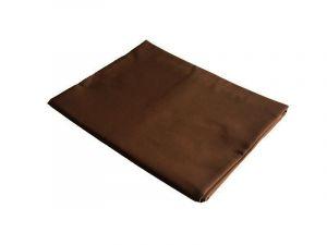 Jednobarevné kvalitní bavlněné prostěradlo v barvě tmavě hnědé, | rozměr 140x240 cm., rozměr 240x240 cm.