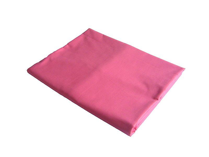 Bavlněné prostěradlo, tmavě růžové Dadka
