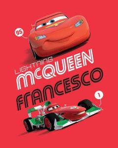 Dětská fleecová deka - Cars 2014