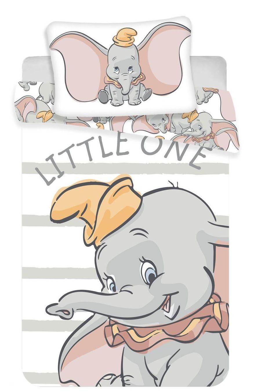 Dětské bavlněné povlečení Disney Dumbo Baby do postýlky , Jerry Fabrics
