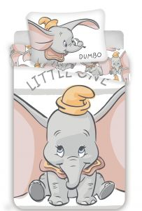 Disney povlečení do postýlky Dumbo stripe baby