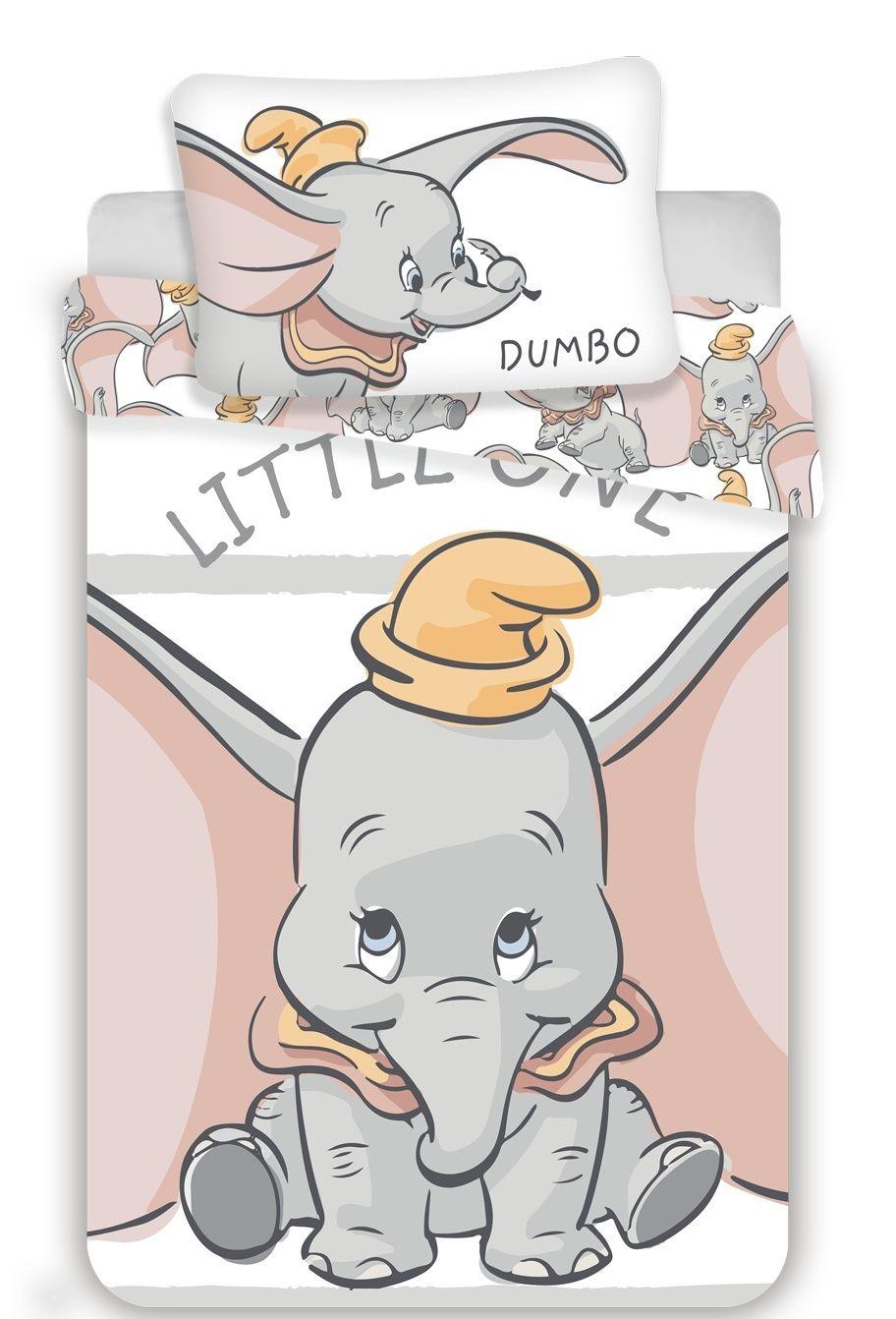 Disney povlečení do postýlky Dumbo stripe baby Jerry Fabrics