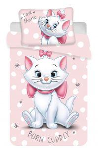 Disney povlečení do postýlky Marie cat dots  baby