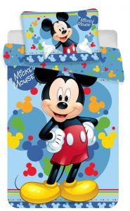 Bavlněné povlečení do postýlky Disney Mickey baby 02