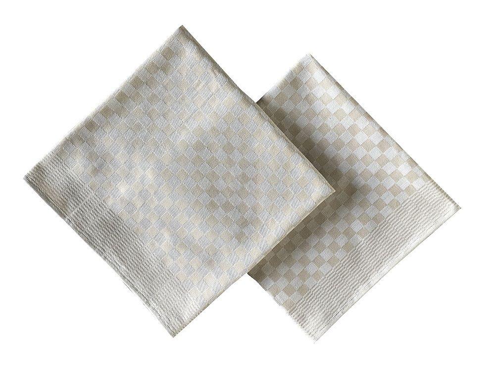 Jemný krepový ručník v béžové barvě, Svitap