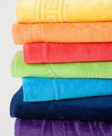 Ze 100% bavlny kvalitní velká maxi plážová osuška Riviera, Veba