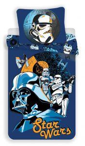 Bavlněné povlečení Star Wars blue