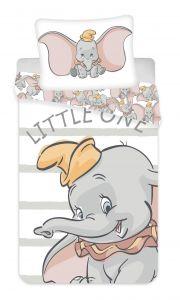 Povlečení Dumbo grey stripe | 140x200, 70x90 cm
