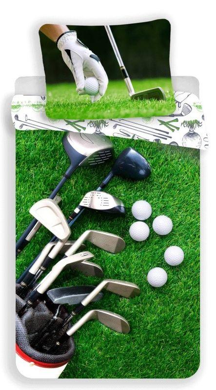 Povlečení fototisk Golf Jerry Fabrics