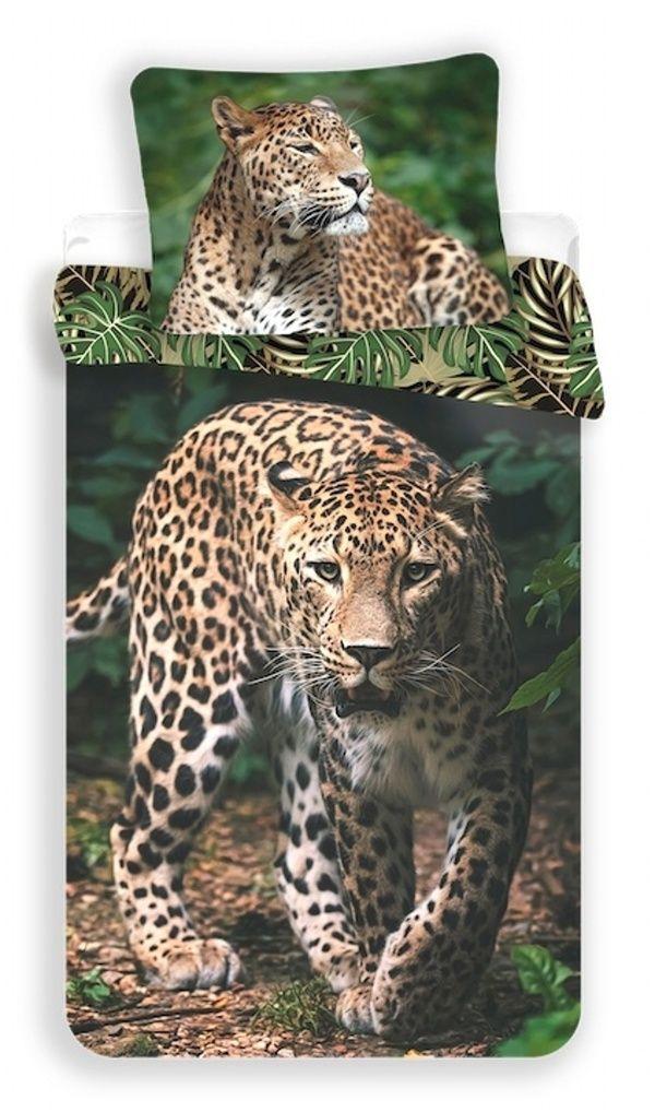 Povlečení fototisk Leopard green Jerry Fabrics