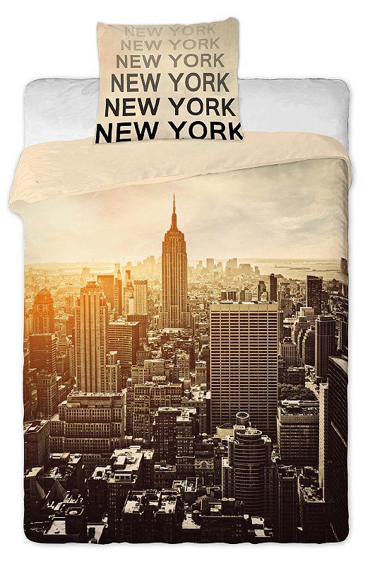 Povlečení fototisk New York Jerry Fabrics