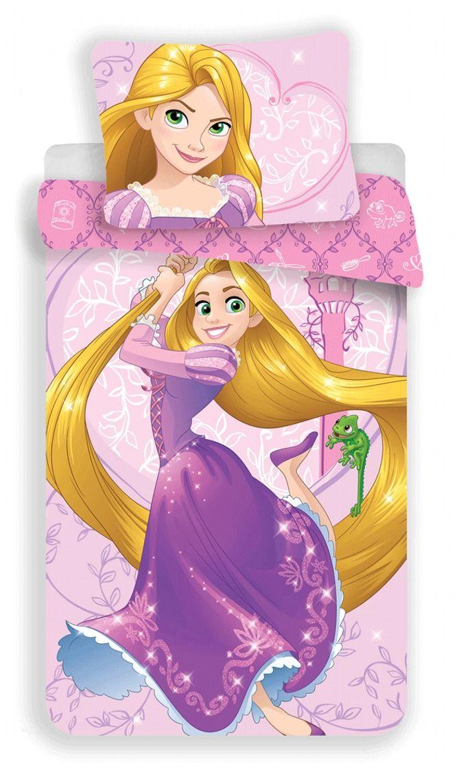 Obrázek princezny na kvalitním dětském bavlněném ložní povlečení Locika 02, Jerry Fabrics