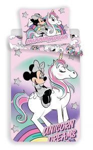 Povlečení Minnie unicorn