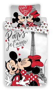 Bavlněné povlečení MM in Paris Eiffel tower