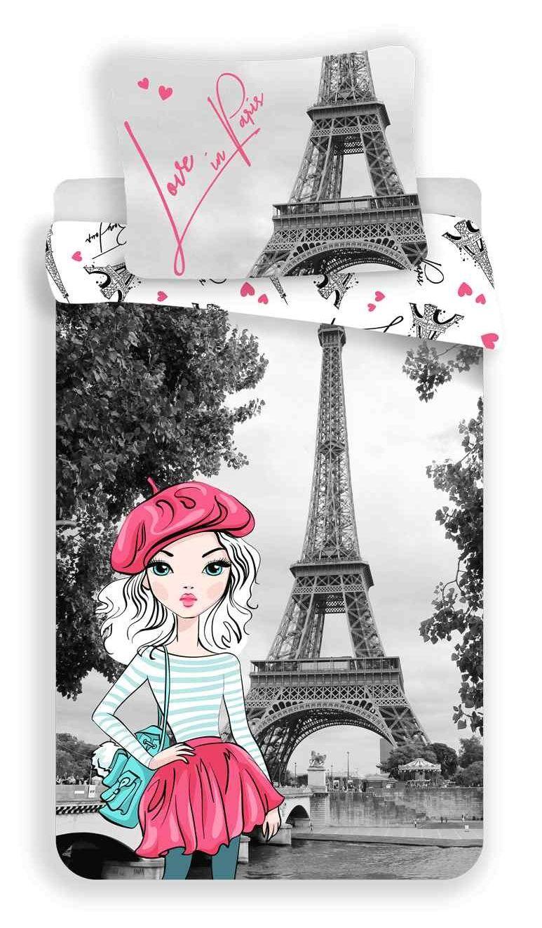 Povlečení Paris grey Jerry Fabrics