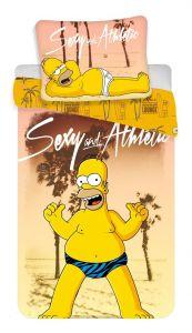 Povlečení Simpsons Homer beach