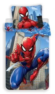 Bavlněné povlečení Spiderman blue 02