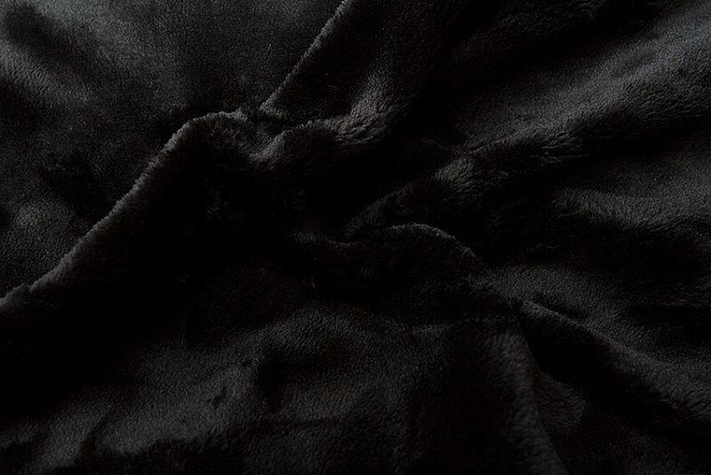 Prostěradlo mikroflanel - černá, Svitap