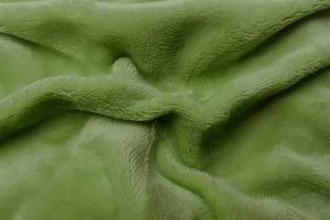 Prostěradlo mikroflanel - kiwi (zelená)