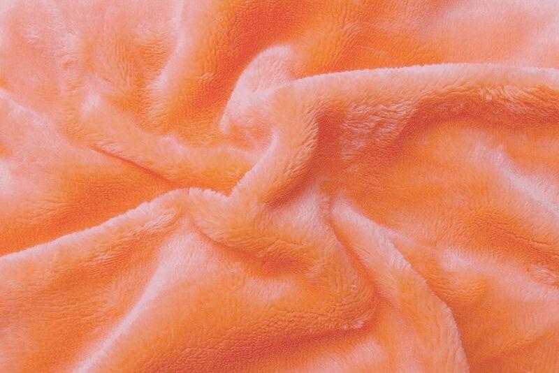 Prostěradlo mikroflanel - lososová, Svitap