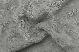 Prostěradlo mikroflanel světlě šedá