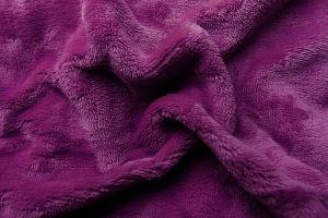 Prostěradlo mikroflanel - fialová tmavá