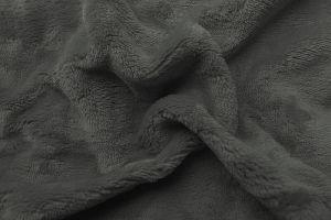 Prostěradlo mikroflanel tmavě šedá