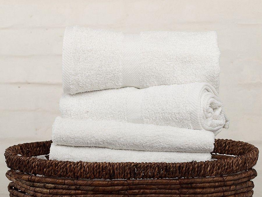 Kvalitní ručník a osuška Profod 400 g/m2 bílá,