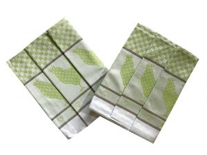 Utěrka Extra savá 50x70 Slepičky zelené - 3 ks