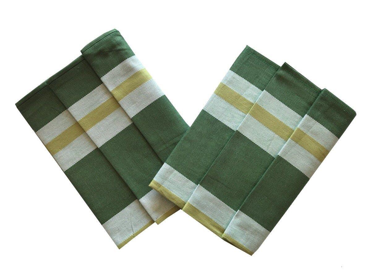 Utěrka Extra savá Zeleno-žlutý pruh - 3 ks Svitap