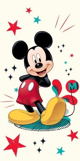 Dětská osuška Mickey Mause 2013 - 75 x 150 cm