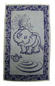 Dětský ručník - Slůně modré