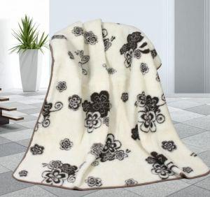 Vlněná deka 155 x 200 cm tomar - evropské merino