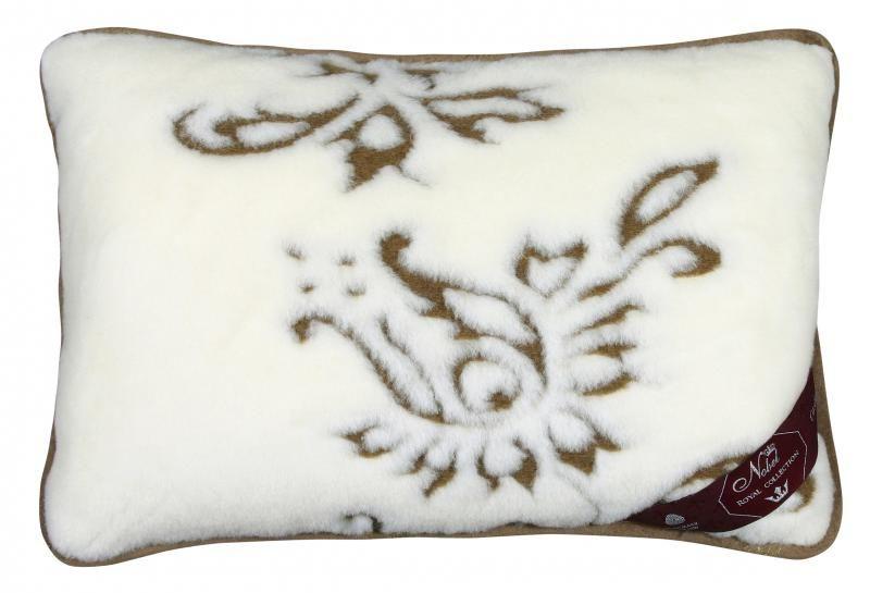 Vlněný polštář 40 x 60 cm Indie - Kašmír